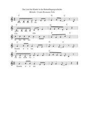 Spielpläne 1 (Klasse 5/6) Rattenfänger-Geschichte : die Melodie der Kinder