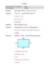 Kleiner Mathe-Check