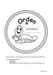 Orden für besondere Leistungen