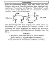 Galactosämie
