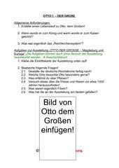 AB: Otto der Große (mit Lösungen)