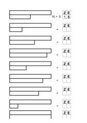 Zahlenraumerweiterung bis 20
