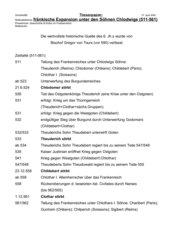 Expansion unter den Söhnen Chlodwigs (511-561)