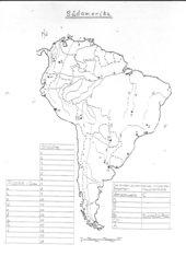 übungskarte Südamerika