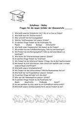 Schulhaus - Rallye
