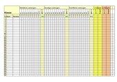 Noten verwalten und berechnen mit der Tabellenkalkulation