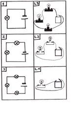 Schaltskizzen und Lösunskarten