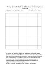 Vorlage für Geobretter ( 4x4 )