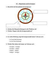 Wiederholung zu Magnetismus und Kompass