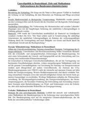 Umweltpolitik in Deutschland: Ziele und Maßnahmen