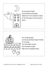 einfache Malaufträge: Halloween