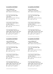 Französisches Zahlenrätsel 1-10