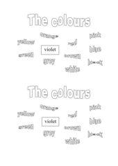 Arbeitsblatt Einführung Colours