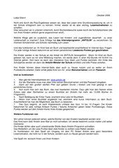 Antolin - Leseförderung im Internet : Briefe an Schüler und Eltern