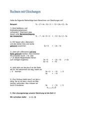 Berechnung von Gleichungen: Schritt-für-Schritt-Anleitung