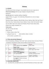 Infoblatt zur Dehnung