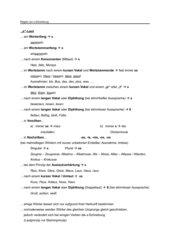 Regeln zur [s]-Schreibung