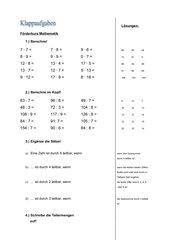 Teilermengen und- regeln