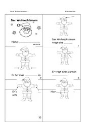 Der Weihnachtsmann - Minibuch