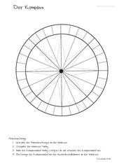Kompass und Windrose