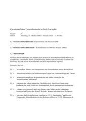UR-Entwurf: Imperialismus um 1900