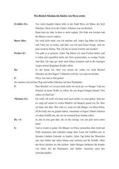 Theaterstück: Nikolaus von Myra