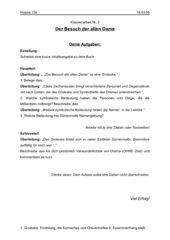 Aufgabenblatt zur Interpretation