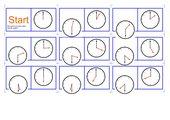 Domino Uhrzeit
