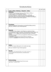 Korrekturkonferenz - textgebundene Erörterung