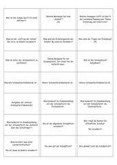 Lernkartei Schulrecht