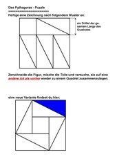 Einführung des Pythagoras (ohne Ähnlichkeit)