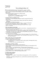 Werte und Regeln vermitteln (Kl.1-10)