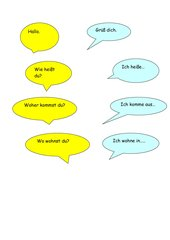 Dialog kennenlernen deutsch