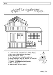Die Villa der Pippi Langstrumpf
