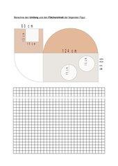 Flächenberechnung: Rechteck, Quadrat, Kreis
