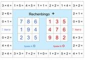 Mathe-Bingo Addition