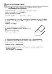 weiterer Test zum Pythagoras