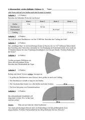 Kreisfläche und Umfang