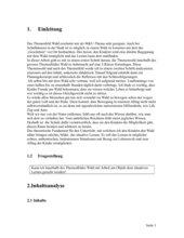 Wald - Theoretische Vorüberlegungen zum Unterricht