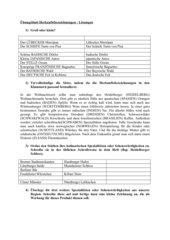 Herkunfstbezeichnungen Übungsblatt zur Groß- und Kleinschreibung
