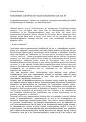 Gestaltendes Schreiben im Französischunterricht der Sek. II