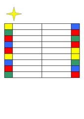 Hüllen für Stöpselkarten und Vorlagen für Stöpselkarten