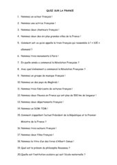 Frankreich-Quiz