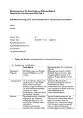 Integrationsproblemation - Klasse 5