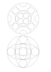4 weitere Mandalas