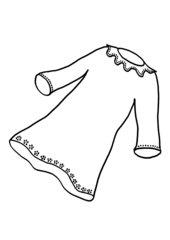 Zeichnungen zu Taufsymbolen