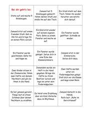 Lesespiel 4 Klasse 3_4--Lesekette