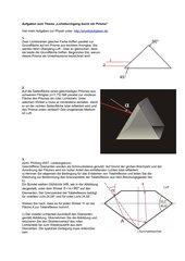 Aufgaben zur Totalreflexion im Prisma