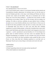 Gruppenarbeit zum Thema Judenchristen - Heidenchristen