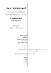 Rationale Zahlen (7. Klasse): Übungs- und Diagnosematerialien